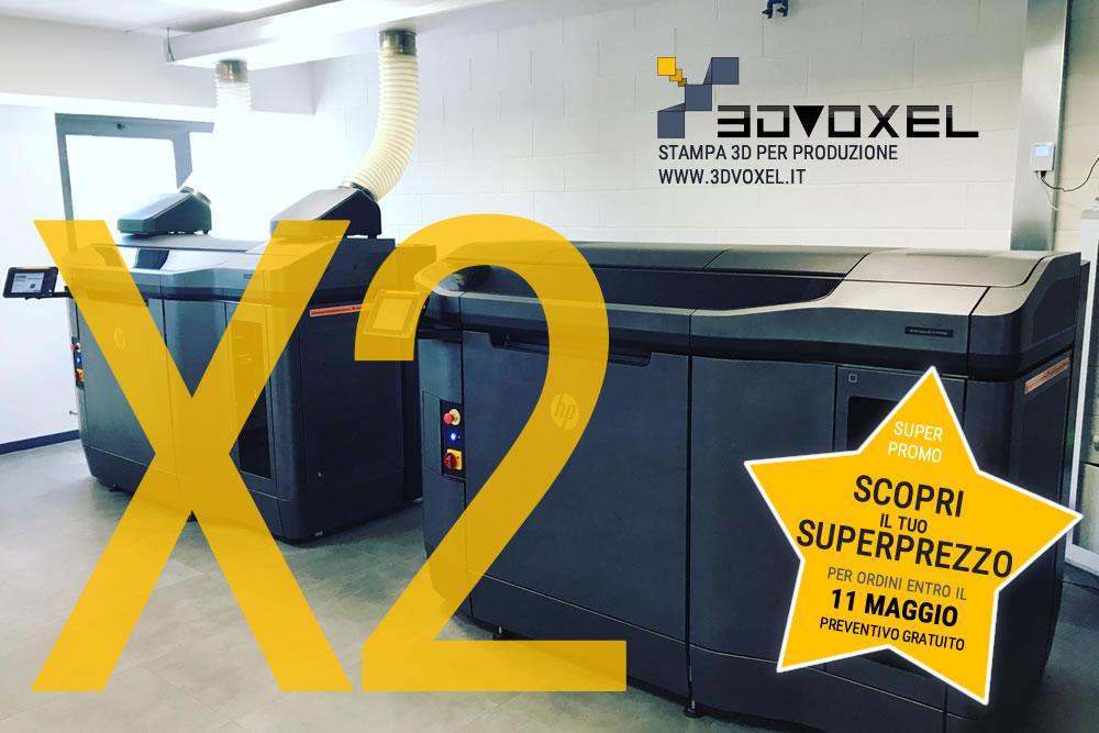3d printer MJF - Promozione maggio